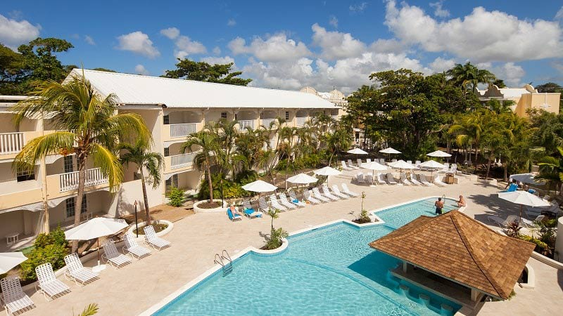 Resort Pool - Luxury Holiday at Sugar Bay Resort Barbados | Just Fly Business