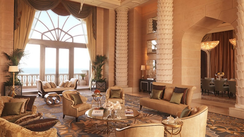 Royal Bridge Suite at Atlantis The Palm, Dubai