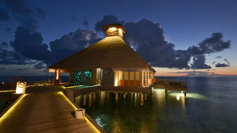 Salt Restaurant at Huvafen Fushi, Maldives