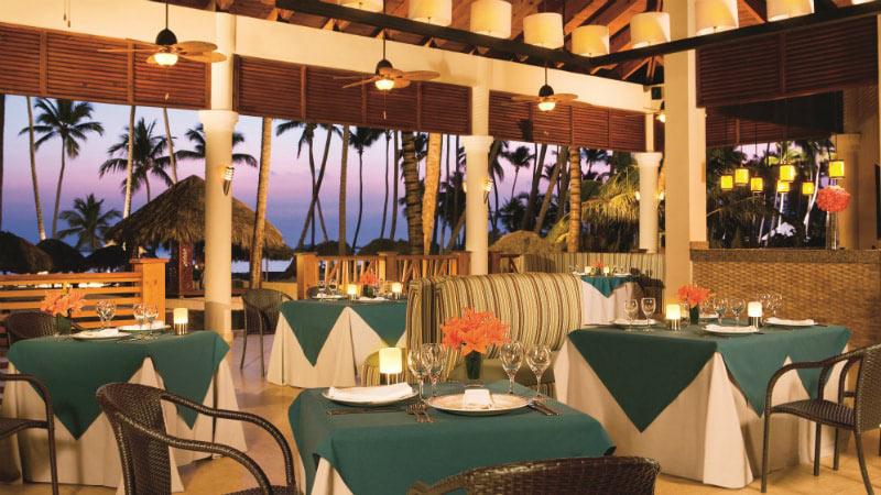 Seaside Grill Restaurant at Dreams Palm Beach Resort & Spa