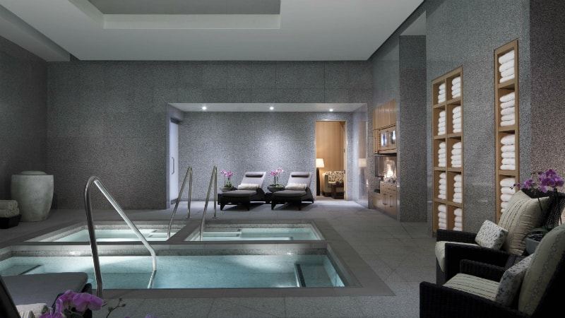 Spa & Salon Hot Tubs at Aria Las Vegas