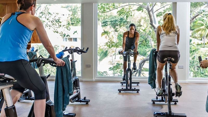 Spin Class - Luxury Holiday at The BodyHoliday | Just Fly Business