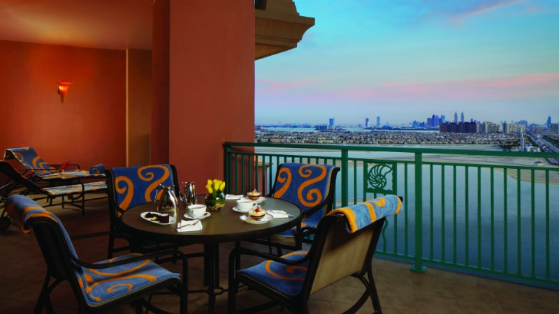 Terrace Club Suite at Atlantis The Palm, Dubai