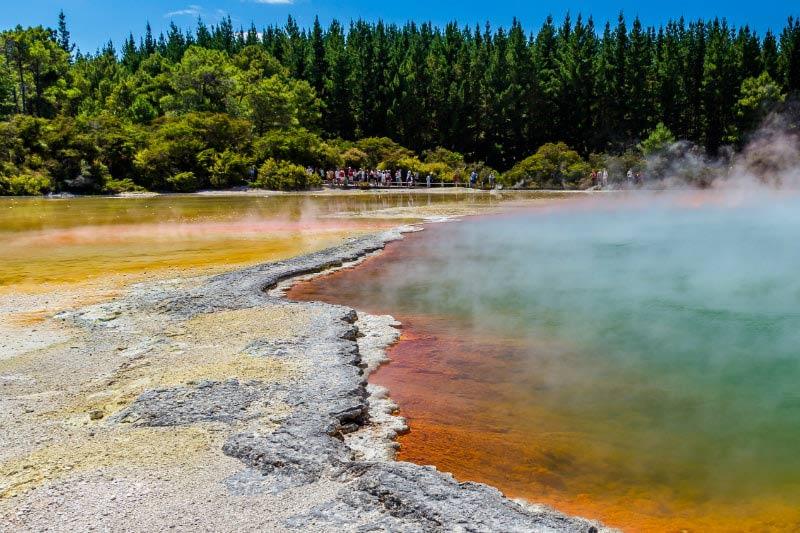Thermal Pools in Rotorua, New Zealand