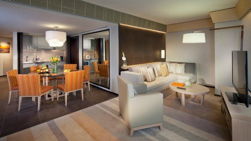 Three Bedroom Ocean Suite at Jumeirah Beach Hotel