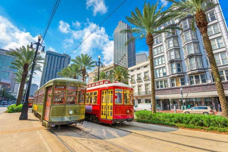 Trams - New Orleans Louisiana | Just Fly Business