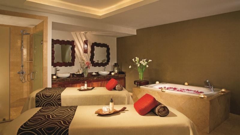 Treatment Tables at Dreams Palm Beach Resort & Spa