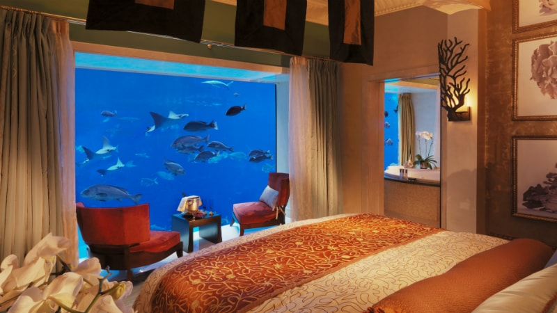 Underwater Suite at Atlantis The Palm, Dubai