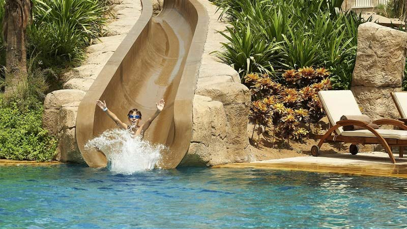 Water Slide - Luxury Holiday at Sofitel The Palm Dubai - Just Fly Business