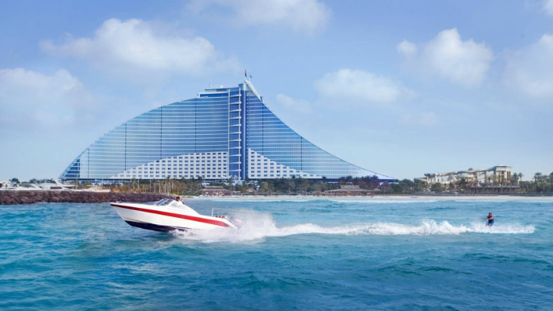 Water Skiing - Luxury Holiday at Jumeirah Beach Hotel | Just Fly Business