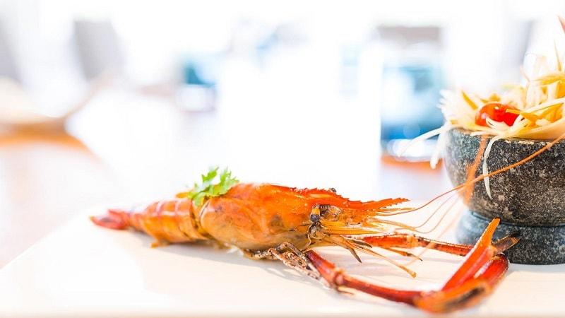 large prawn