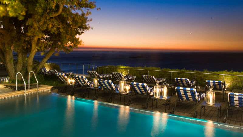 Atlantic Terrace Pool - Luxury Holiday at The 12 Apostles Hotel | Just Fly Business