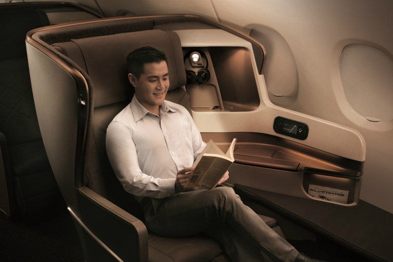 A350 Business Class on Singapore Airlines