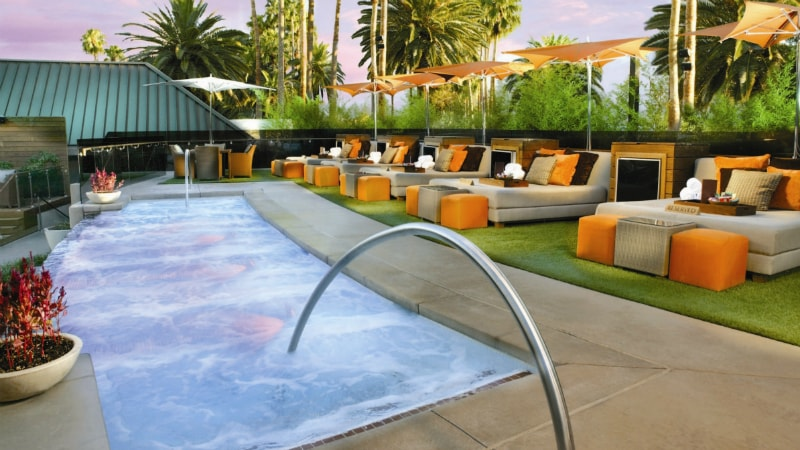 BARE Pool Lounge at Mirage Hotel & Casino, Las Vegas