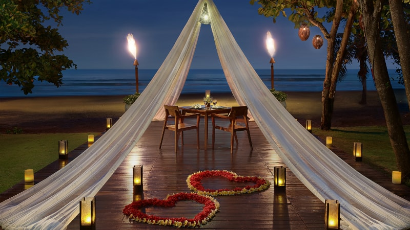 Beach Dining By Design at Anantara Seminyak Resort, Bali
