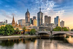 Melbourne Skyline - Your Next First Class Destination - Just Fly Business