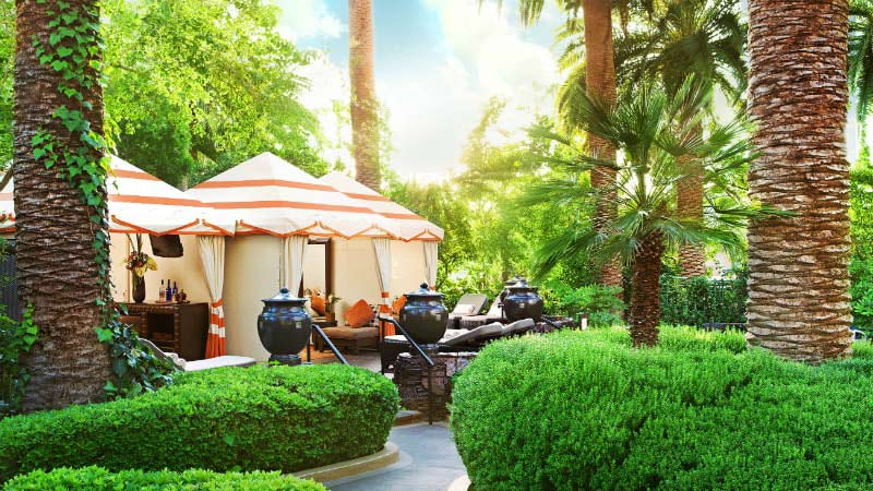 Cabana - Luxury Holiday at Mirage Hotel & Casino Las Vegas - Just Fly Business