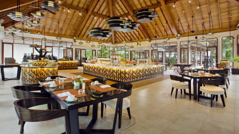 Cafe Dauban - Luxury Holiday at Hilton Seychelles Labriz Resort & Spa | Just Fly Business