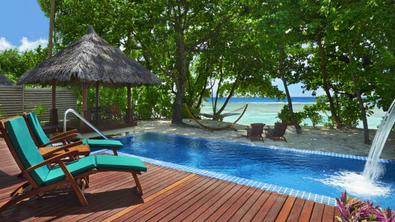 Deluxe Beachfront Pool Villa - Hilton Seychelles Labriz Resort & Spa | Just Fly Business