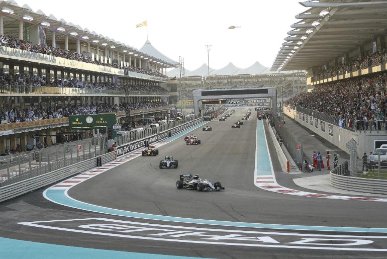 Formula 1 Race Day - Etihad Abu Dhabi Grand Prix | Just Fly Business