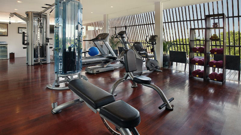 Gym - Luxury Holiday at Anantara Seminyak Resort | Just Fly Business