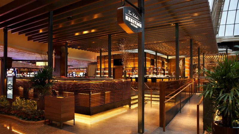 Heritage Steak Restaurant Luxury Holiday at Mirage Hotel & Casino   Just Fly Business