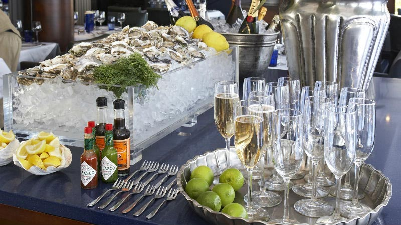 Oyster Bar - Luxury Holiday at 12 Apostles Hotel & Spa | Just Fly Business