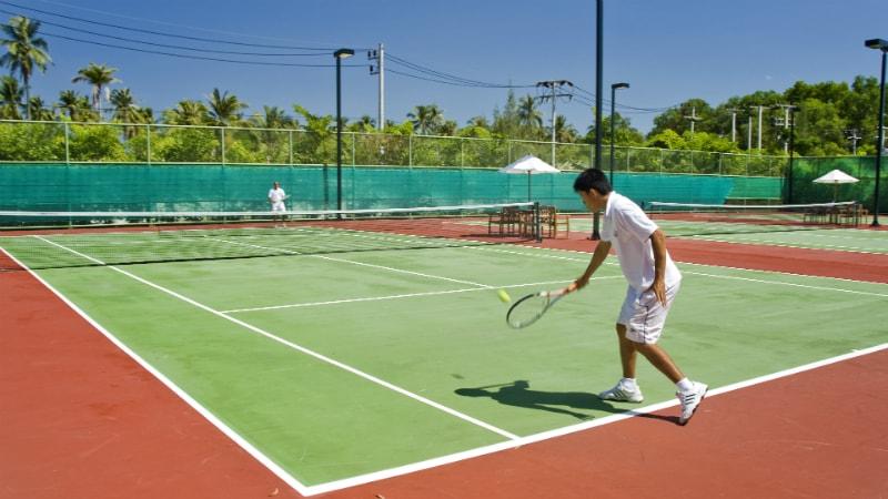 Tennis Courts at Anantara Mai Khao Phuket
