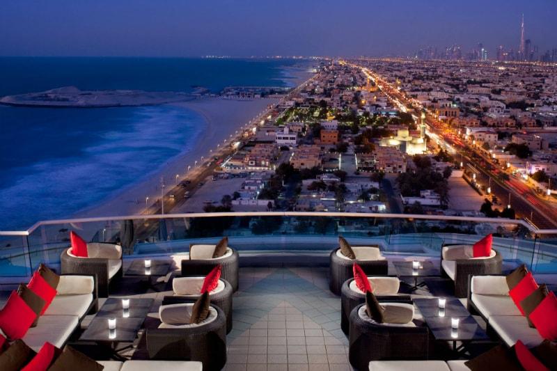Terrace - Jumeirah Beach Hotel, Dubai
