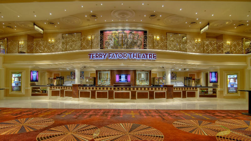 Terry Fator Theatre - Luxury Holiday at Mirage Hotel & Casino | Just Fly Business