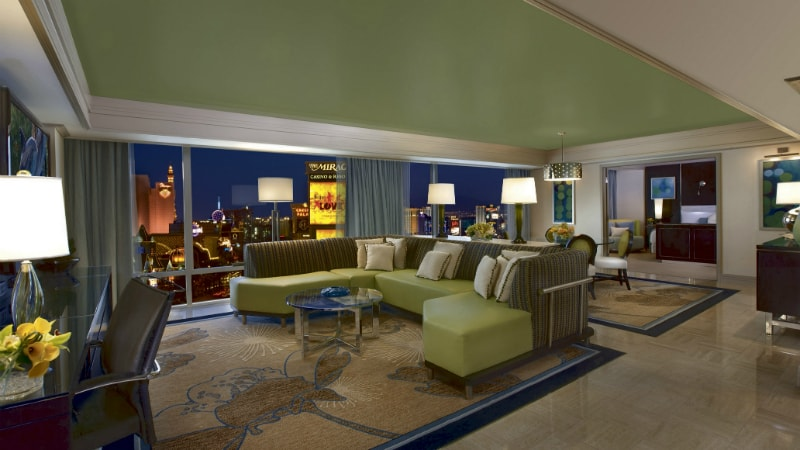 Tower Suite at Mirage Hotel & Casino, Las Vegas