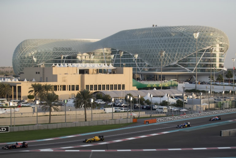 Formula 1 Race Day at the Etihad Abu Dhabi Grand Prix