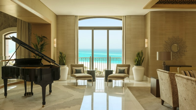 St. Regis Saadiyat piano bar
