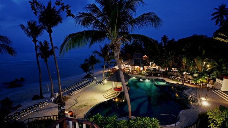 Beachfront Pool at Centara VIllas Samui, Koh Samui, Thailand