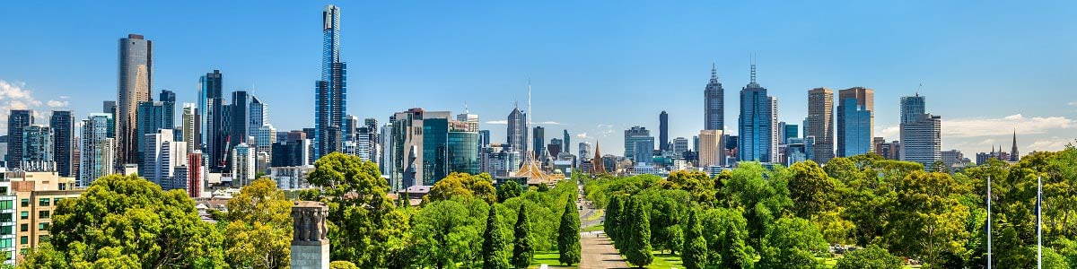 Melbourne Skyline - Your Next First Class Destination | Just Fly Business