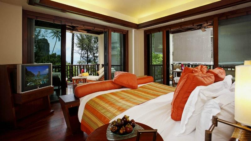 Deluxe Ocean Facing room at Centara Grand Beach Resort & Villas