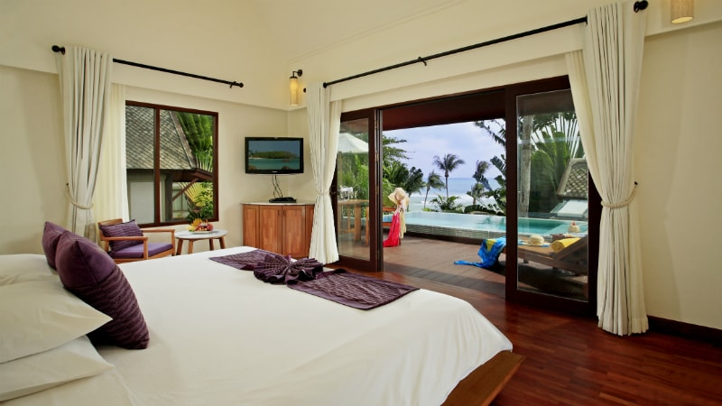 Deluxe Pool Villa Ocean View at Centara VIllas Samui, Koh Samui, Thailand
