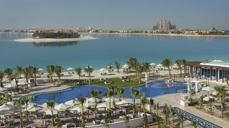 Waldorf Astoria Dubai Palm Jumeirah lagoon view
