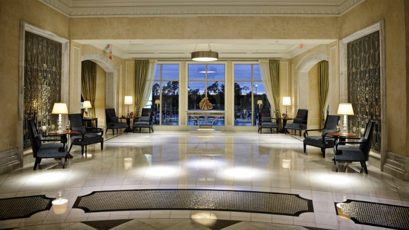 Lobby - Luxury Holiday at Waldorf Astoria Orlando | Just Fly Business
