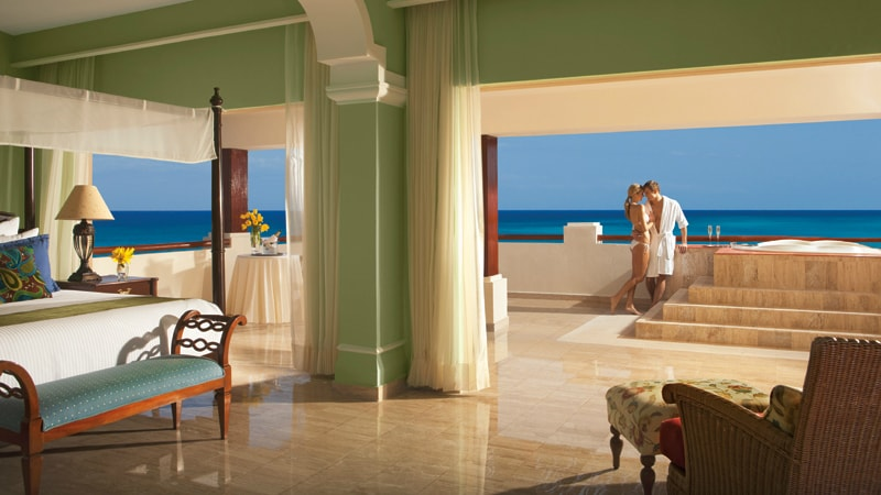 Now Sapphire Riviera Cancun. Preferred Club Governor Suite Ocean View