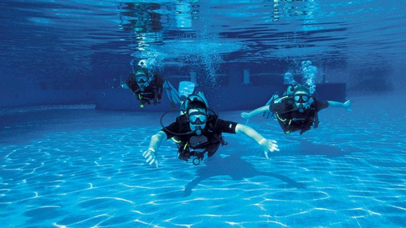 Now Saphire Riviera Cancun scuba diving