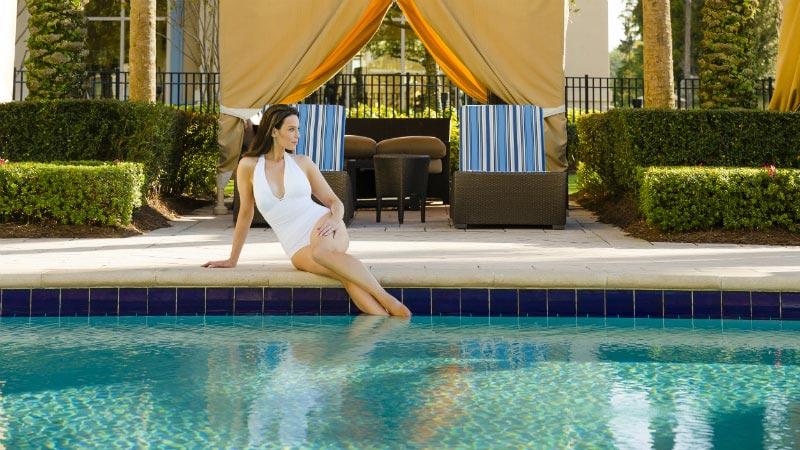 Pool Gazebo - Luxury Holiday at Waldorf Astoria Orlando | Just Fly Business