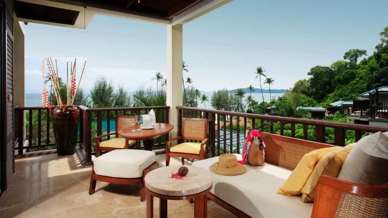 Premium Deluxe Ocean Facing room at Centara Grand Beach Resort & Villas
