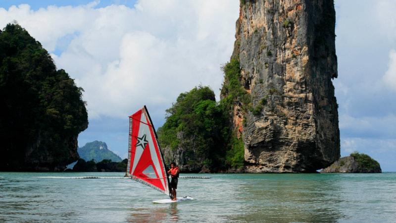 Windsurfing at Centara Grand Beach Resort & Villas