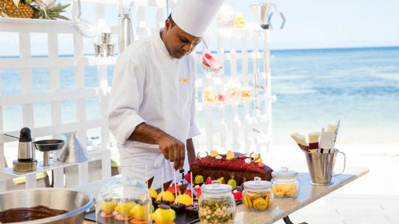 Sugar Beach Mauritius food