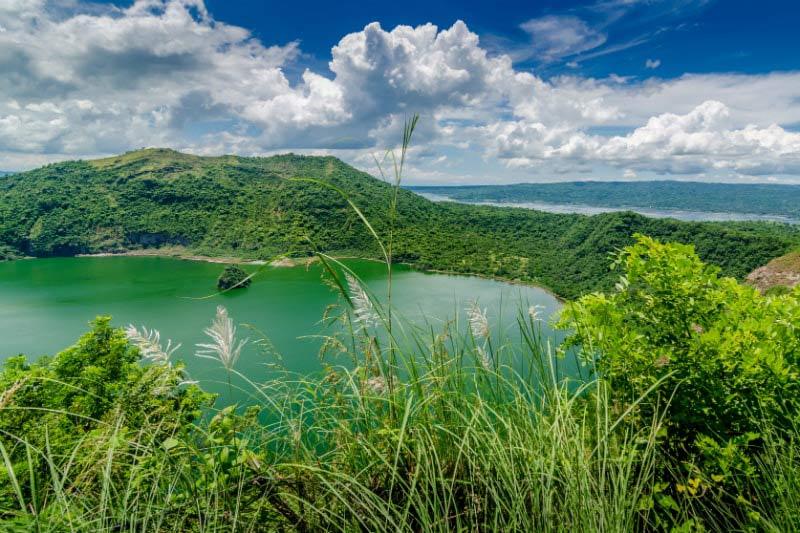 Taal Volcano near Manila, Philippines