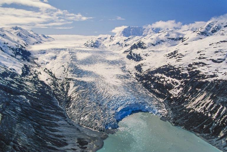 Glacier Bay National Park in Alaska, USA