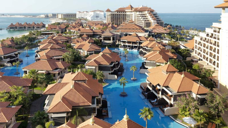 Aerial View - Luxury Holiday at Anantara The Palm   Just Fly Business