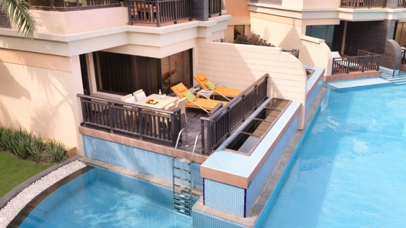 Deluxe Family Lagoon Pool Access at Anantara The Palm, Dubai