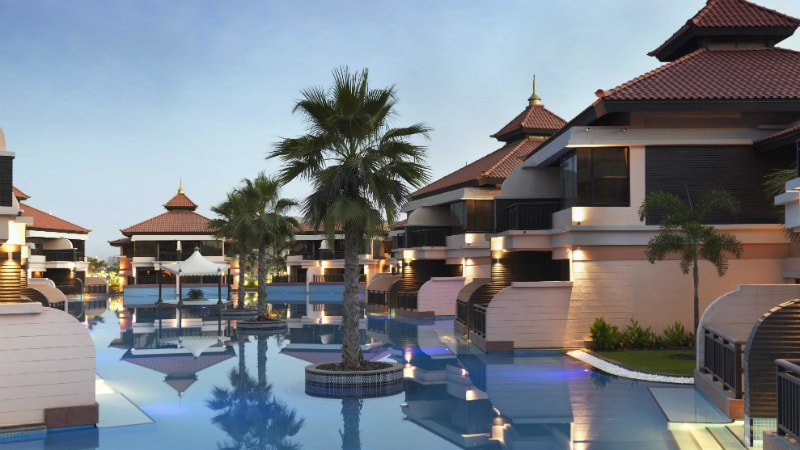Lagoon Villas Evening at Anantara The Palm, Dubai